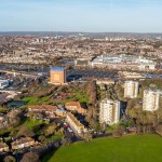 Brent Cross South_partial aerial