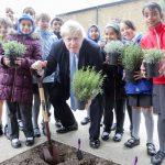 Friends Garden, Belmont Road, Uxbridge, opening ceremony with Boris Johnson MP. MUST CREDIT PHOTO MATT WRITTLE © copyright Matt Writtle 2016.